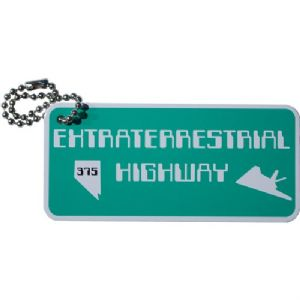 Extraterrestrial Highway Travel Tag